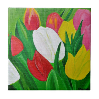 Tulips 2a tile