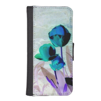 tulips abstract phone wallet case