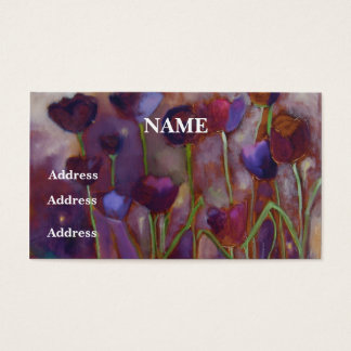 """Tulips And Fireflies"" -  Business Cards"