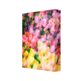 Tulips and Lilacs Canvas Print