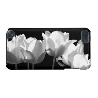 Tulips, B&W iPod Touch (5th Generation) Covers