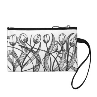 Tulips Bagettes Bag Coin Wallet