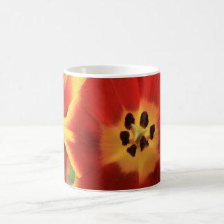 Tulips Basic White Mug