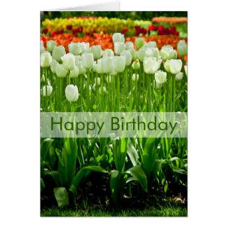 Tulips Birthday Card | Geburtstagskarte Tulpen