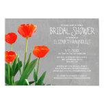 Tulips Bridal Shower Invitations