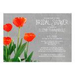 Tulips Bridal Shower Invitations Announcement