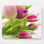 Tulips bunch mouse pad