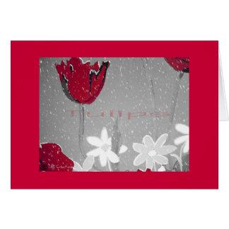 """Tulips"" Card"