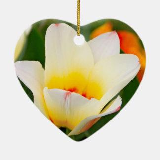 Tulips Ceramic Heart Decoration