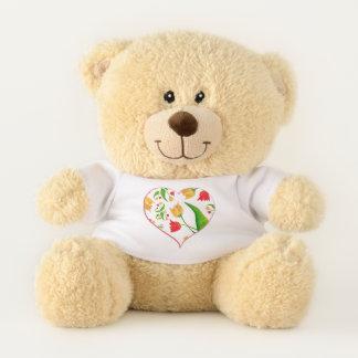 Tulips [childhood diary] teddy bear