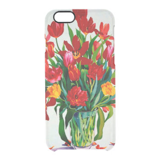Tulips Clear iPhone 6/6S Case