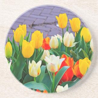 Tulips Drink Coaster