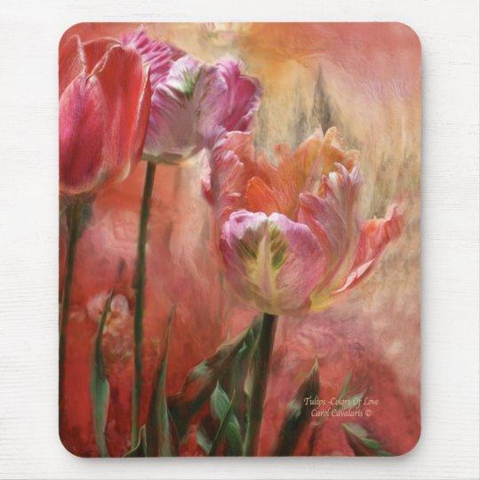 Tulips - Colours Of Love Mousepad