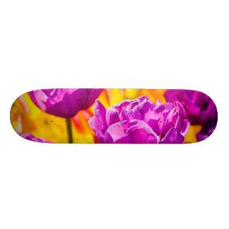 Tulips Enchanting Violet 18.4 Cm Mini Skateboard Deck