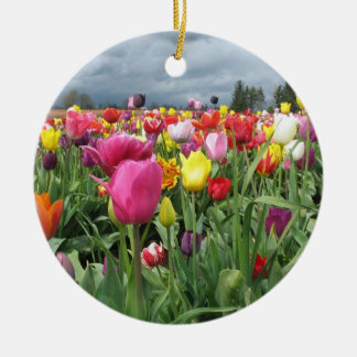 Tulips Field Ornament