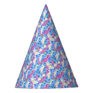 Tulips Floral Colorful Party Supply Party Hat