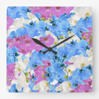 Tulips Floral Colorful wall Clock