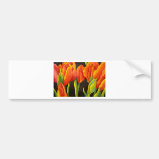 TULIPS FOR EVER BUMPER STICKER