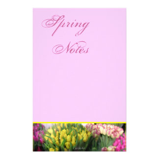 Tulips For Sale Stationery