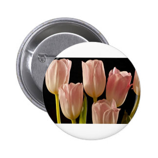 Tulips for You 6 Cm Round Badge