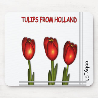 Tulips from Holland © mousepad Muis Mat