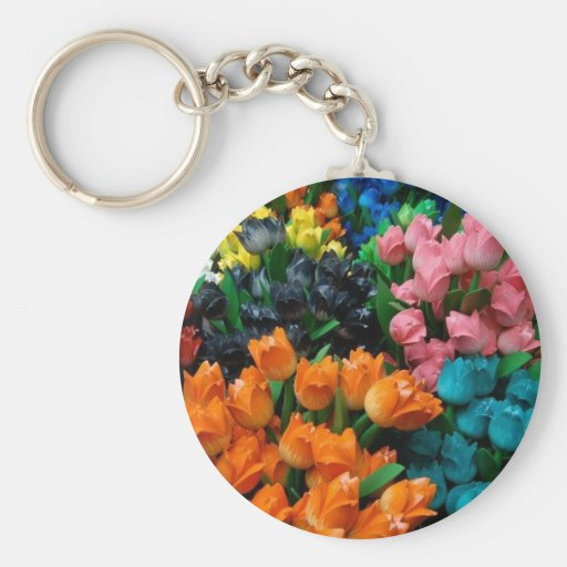 Tulips Galore Keychains