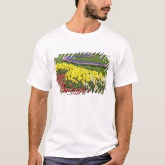 Tulips, Grape Hyacinth, and Daffodils, T-Shirt