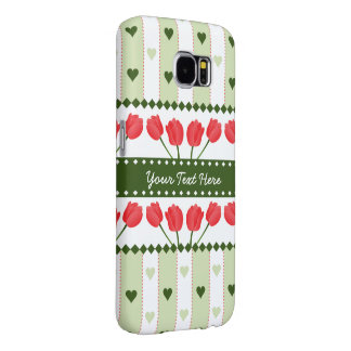Tulips & Hearts phone cases
