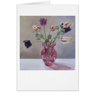 """Tulips in Pink"" Card"