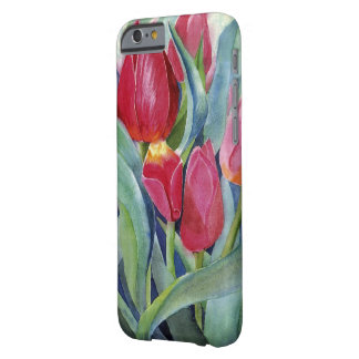 Tulips in Red and Pink Barely There iPhone 6 Case