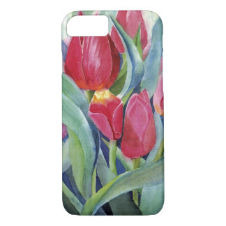 Tulips in Red and Pink iPhone 7 Case