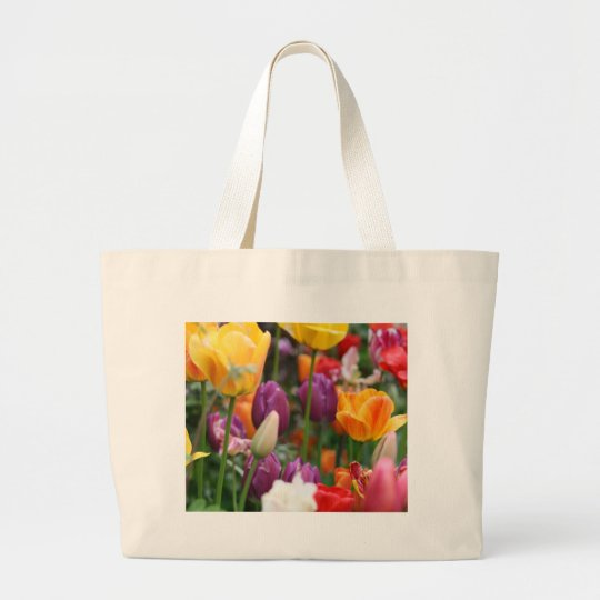 Tulips In Spring Bag