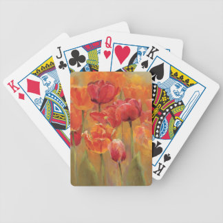 Tulips in the Midst Bicycle Playing Cards