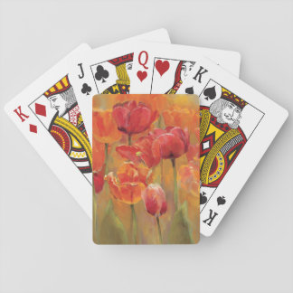 Tulips in the Midst Playing Cards