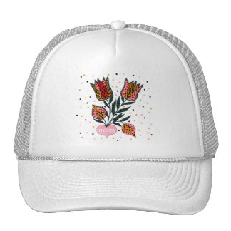 Tulips Mom T-shirts and Gifts Cap