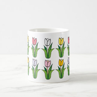 Tulips Mugz Basic White Mug