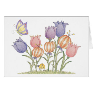 Tulips - Note Card