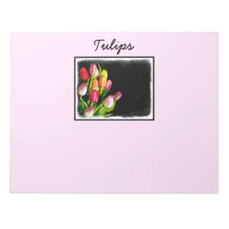 Tulips Notepad