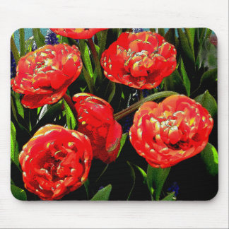 Tulips of Many Petals Mouse Pad