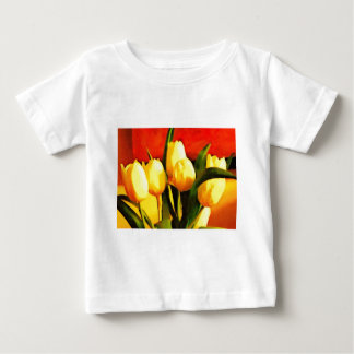 Tulips (Oil Paint Style) Baby T-Shirt