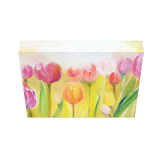 Tulips oil painting painting on screen canvas print