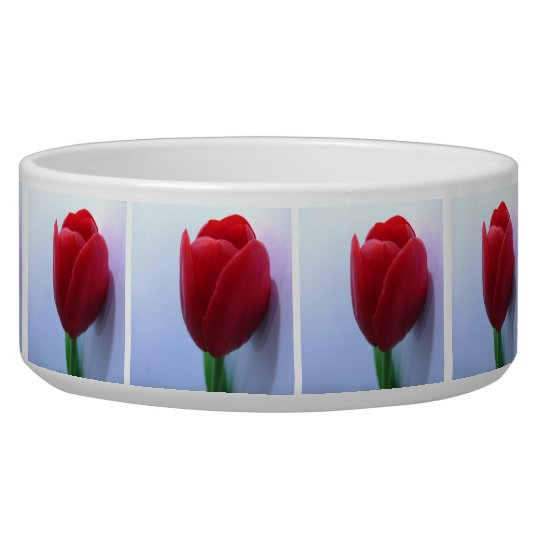 Tulips Pet Bowl