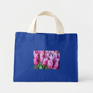 Tulips - Pink & Purple Tulips Bags