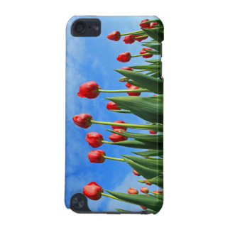 Tulips red flowers photo ipod touch 4G case iPod Touch (5th Generation) Covers