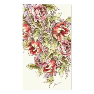 Tulips & Roses - Calling or Business Card