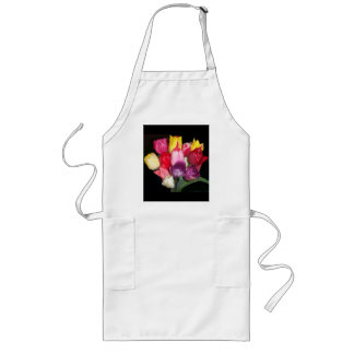 Tulips Says it All Long Apron