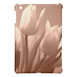 Tulips sepia iPad mini cover