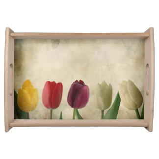 Tulips Serving Trays
