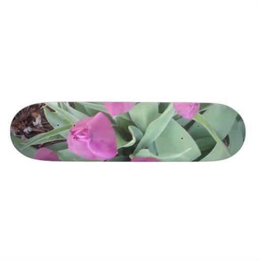 Tulips Skate Board