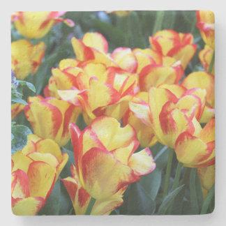 Tulips Stone Beverage Coaster